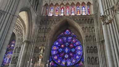 Kathedrale Notre Dame in Reims, Frankreich