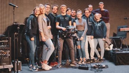 Das Team vom Mediendienst der Evangelischen Jugend Bramsche